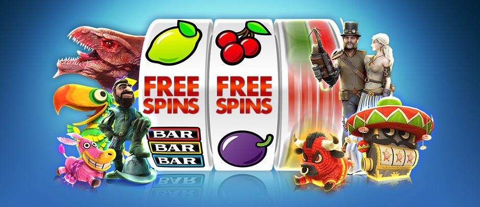 free spins Auswahl von Online Casinos