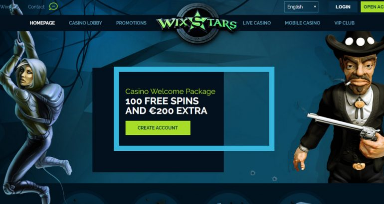 wixstars casino freespins