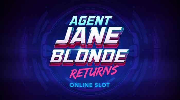 Read more about the article Agent Jane Blonde Returns Slot, neue Abenteuer der Superspionin