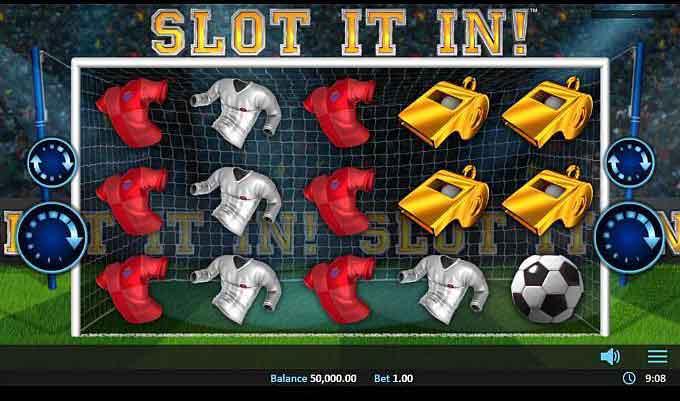 Slot it in slot