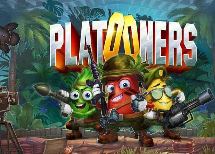 Platooners Slot von Red rake gaming