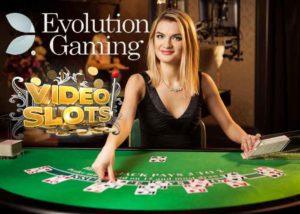 Read more about the article Videoslots und Evolution Gaming, eine erfolgsversprechende Partnerschaft