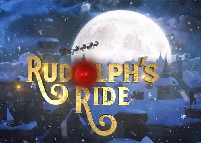 Read more about the article Der Rudolfs Ride Slot, ein Weihnachtsspiel mit 3 Level