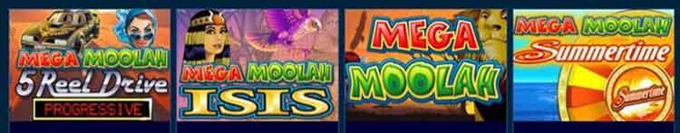 Microgaming Jackpot Slots mega moolah