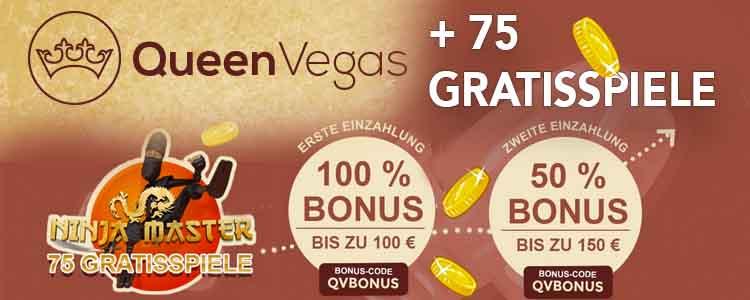 Queen Vegas Casino - schnell zahlende Casinos