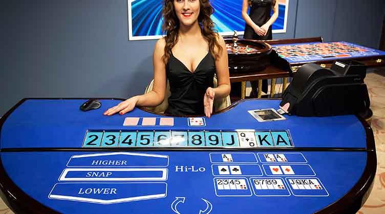 playtech live casino high low