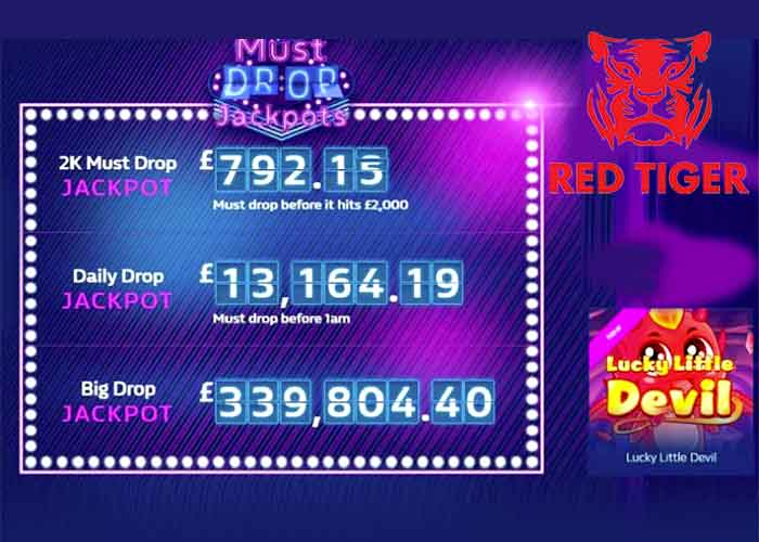 Read more about the article Das Red Tiger Daily Drop Jackpot Network zahlt Millionen