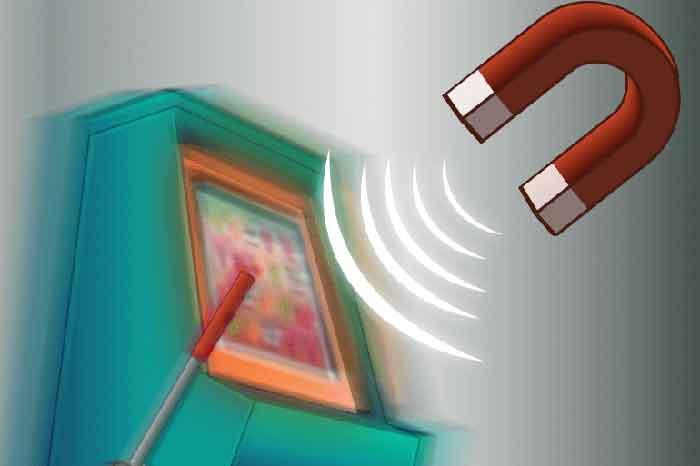 Spielautomaten betrügen Magnet