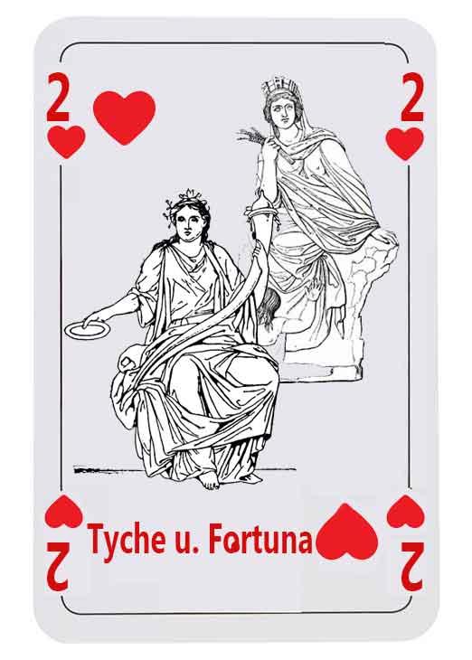 Tyche und Fortuna