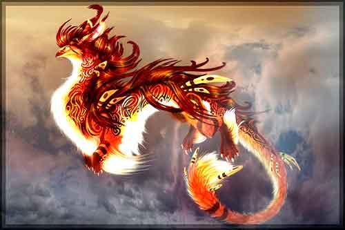 chinesische Glücksbringer Chao Frng