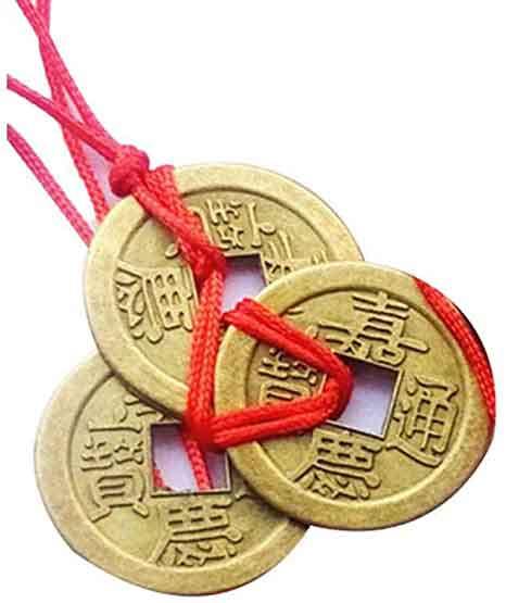 Chinesische Glücksmünzen