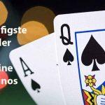 Fehler bei Online Casinos